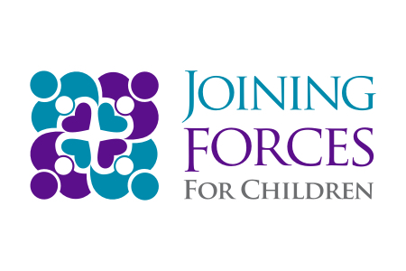 Joining Forces For Children logo.